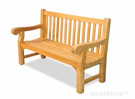 Teak Garden Benches from Goldenteak in various sizes