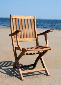 Teak Providence Chair from Goldenteak.com